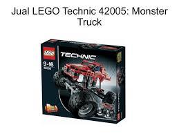 jual lego technic 42005 monster truck