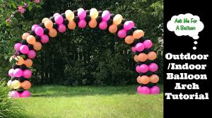 arch decoration balloon arch decoration step by step tutorial