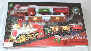 amazon com the classic train electric christmas tree train set
