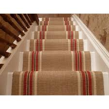 How To Put Rug On Stairs by Carpet Runner For Stairs Design How To Put Carpet Runner For
