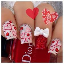 107 best valentine nails u0026 nail art design tutorial by nded images