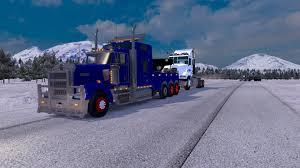 w900 kenworth w900 wrecker american truck simulator mods ats mods