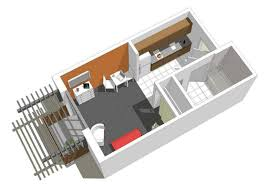 Fourplex Plans by Modern Apartment Plan Typ Intended For Unique View Floorplans