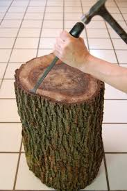 best 25 wood stumps ideas on log table diy