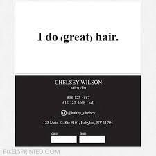Business Cards Hair Stylist 33 Best Hairstylist Business Cards Images On Pinterest