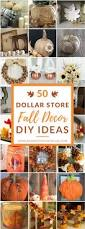 50 dollar store fall decor diy ideas fall diy projects