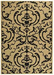 Sisal Outdoor Rugs Damask Medallion Outdoor Carpet Safavieh