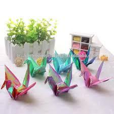 Origami Wedding Cake - sparkle peace crane origami bird ornament wedding cake