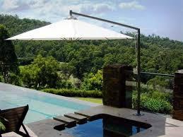 Commercial Patio Umbrella by Outdoor Umbrellas And Shades The Uniqueness Of Deck Umbrellas