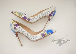 light purple wedding shoes have you seen these disney fairytale princess wedding shoes