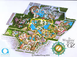 Disney World Park Maps Somewhere Over The Rainbow Disney U0027s Oz Resort Wdwmagic