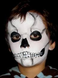 Halloween Skeleton Faces by 24 Best Ideas To Paint Kids Faces On Halloween Day Entertainmentmesh