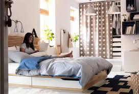 bedroom attractive cool modern white minimalist by ikea splendid