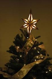 extra large beveled glass north star tree topper by cityfreeglass