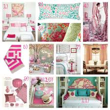 boldly colorful feminine pink and aqua bedroom ideas he guest bedroom is getting a bold feminine makeover this mood board is packed