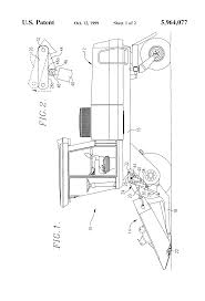 patent us5964077 dual accumulator hydraulic flotation system for