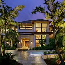 captiva house tropical exterior miami by k2 design group inc