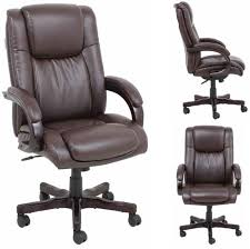 barcalounger titan ii home office desk chair recliner leather