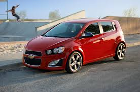 Chevrolet Sonic Interior 2014 Chevrolet Sonic Rs Sedan First Test Motor Trend