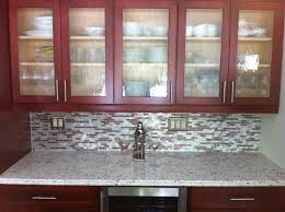 eden mosaic tile silver and chocolate brick mixed aluminum mosaic