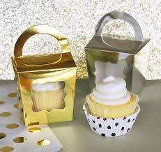 Favor Boxes by Metallic Gold And Silver Foil Favor Boxes Birdsparty