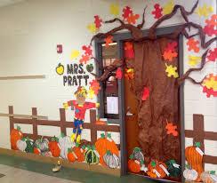 Fall Pumpkin Patch Classroom Door Decoration Features Different