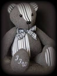 remembrance teddy bears this remembrance is made from a favourite shirt and pair of