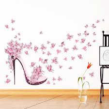 stickers high pour chambre butterfly wall stickers living bedroom decoration diy