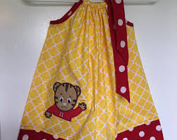 daniel tiger dress etsy