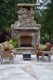 Outdoor Fireplace Patio Freestanding Outdoor Fireplace Patio Traditional With Container