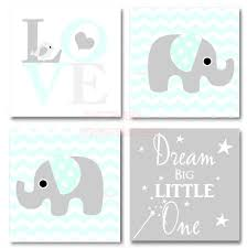 cute sayings for home decor framed canvas print love 4 piece set cute elephant bird