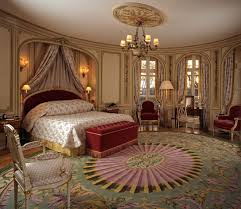 exciting picture of elegant victorian bedroom decoration using
