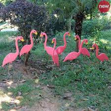 special offer garden ornaments plastic flamingo flat