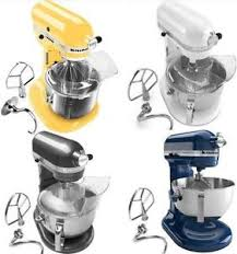 Yellow Kitchen Aid - new kitchenaid pro 600 stand mixer kp26m1xq 6 qt white pearl