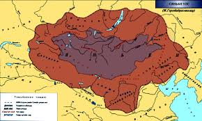 Mongol Empire Map Ancient Mongolian Map Pr Energy