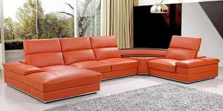 Orange Leather Sofa Set 10 Of The Most Unique Leather Sofa Sets In 2017 2018 Cozysofa Info