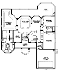 floor plans 3 bedroom 2 bath palazzo home plan 3 bedroom 2 bath 2 car garage house plans