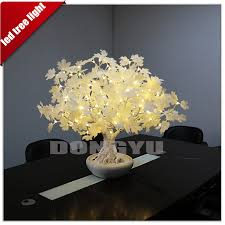 artificial wholesale flowers plant potting tree lights for