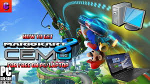 how to get mario kart 8 on pc laptop for free youtube