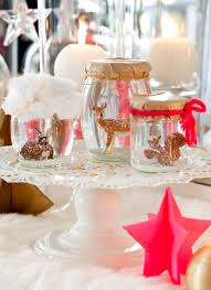 Christmas Table Decoration Ideas 2014 by Christmas Table Setting Ideas Modern Style Grain Cans With Various