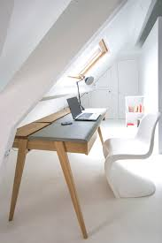 interior design ideas beautiful office space wood white