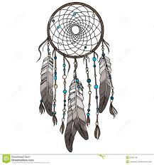 drawn dreamcatcher cherokee pencil and in color drawn