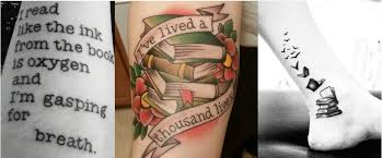 5 adorable tattoo designs for book lovers bookishly