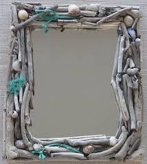 Beachy Bathroom Mirrors by Best 25 Driftwood Mirror Ideas On Pinterest Beach Mirror