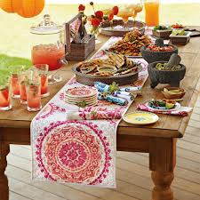 Mexican Table Runner We Both Think This Is A Good Example Of What We Want In Terms Of