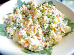 olivier cuisine olivier salad salad recipe