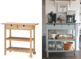 kitchen island on wheels ikea 7 ikea hacks for your kitchen that you can actually do coffee