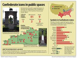 symbols of the confederacy more than 50 stand in kentucky news