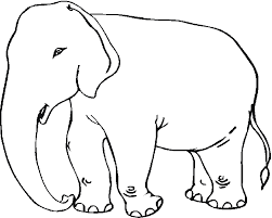 117 dessins de coloriage éléphant à imprimer