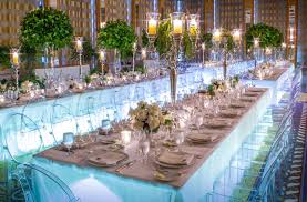 wedding tables wedding dining trends grandeur of king s tables strictly weddings